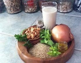 Ingredients for Nut Loaf
