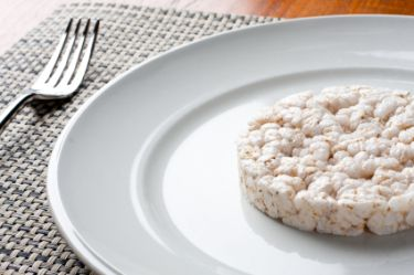 rice cake on plate