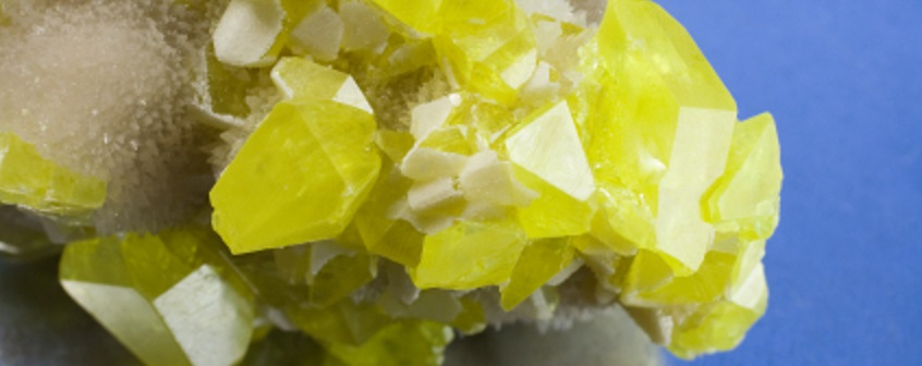 sulfate crystals