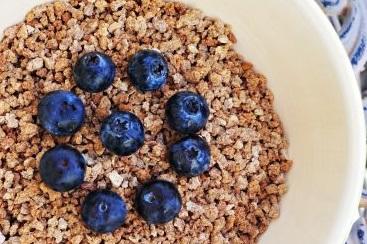 Whole Grains Blueberries