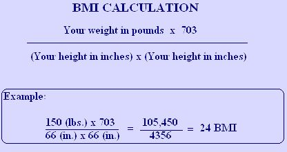 Body Mass Index Calculation