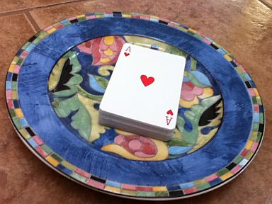 Deck of Cards serving size